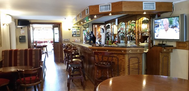 Relax in our well stocked bar